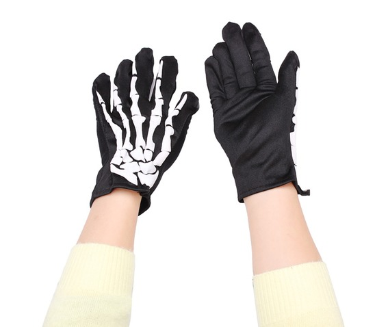 skeleton_bones_x_ray_black_white_elastic_goth_gloves_gloves_4.jpg