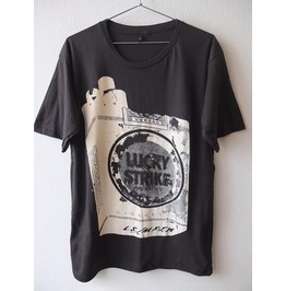 Lucky Strike Vintage Cigarette Pack Pop Rock T Shirt M