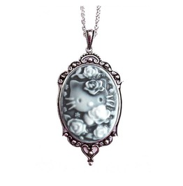 Kitty Rose Cameo Necklace