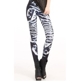 Skeleton Bones Printed Leggings