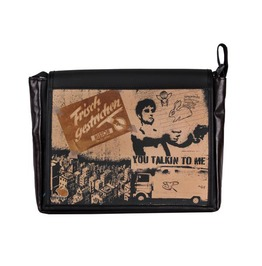 "Messenger Style Satchel Bag ""Freshman"" Talkin Print"