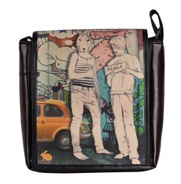 "Side Satchel ""Eskimo"" Hitch Print"