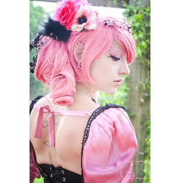 Rose Pink Dark Fairy Dress