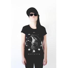 Womens Wolf Moon Tshirt