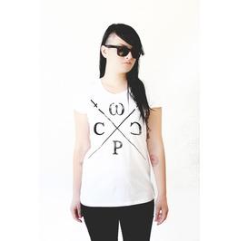 Womens Wolf Pack Clothing Company Logo Tshirt
