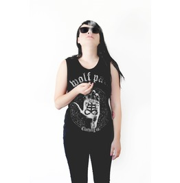 Womens Chiromancy Handcut Tank