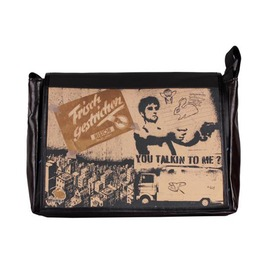 "Messenger Style Bag ""Student"" Talkin Print"