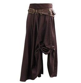 Steampunk Cambra Belted Skirt