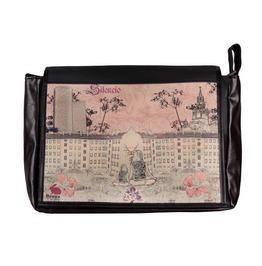 """Messenger Style Bag """"Student"""" Silencio Print"""