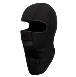 Warm! Black Fleece Balaclava Face Mask One Size