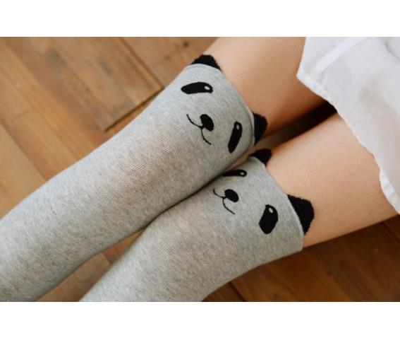 kawaii_panda_face_knee_high_socks_light_grey_socks_3.png