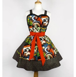 Classic Horror Monsters Two Skirt Apron