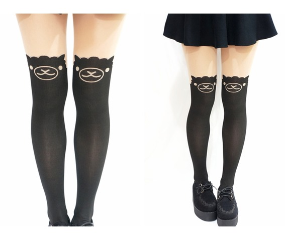 cute_alpaca_llama_knee_high_tights_pantyhose_socks_3.jpg