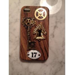 Gearz Hand Made Apple Phone 4 4 S Steampunk Neo Victorian Case Gear Keyhole 17