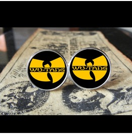Wu Tang Clan Logo Cuff Links Men,Wedding,Groomsmen,Groom