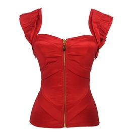 Red Corset/Bustier Straps