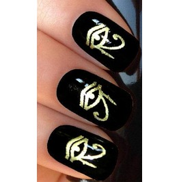 Eye Ra Nail Decals Wraps X 20 G075