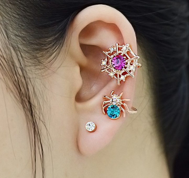 cute_colorful_crystal_18k_gold_plated_spider_ear_cuff_earrings_4.PNG