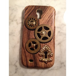 Igearz Hand Made Samsung Galaxy S4 Steampunk Neo Victorian Cell Phone Case