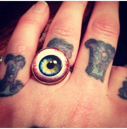 Human Eyeball Ring