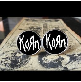 Korn Self Titled Logo *New* Cuff Links Men, Weddings,Grooms, Groomsmen,Gifts,Dads,Graduations