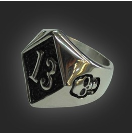 13 Stainless Steel Ring
