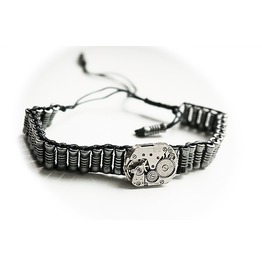 Steampunk Bdsm Jewelry Cuff Brutal Metal Brass Soviet Watch Adjustable Bracelet Gift Christmas Birthday Wedding Man Woman
