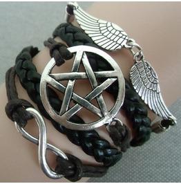 Retro Style Rope Bracelet Star Infinity Wing Valentine's Day Gift