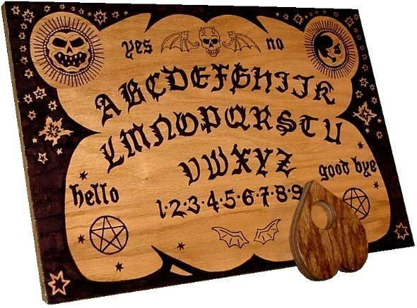 Spirit life the ouija board