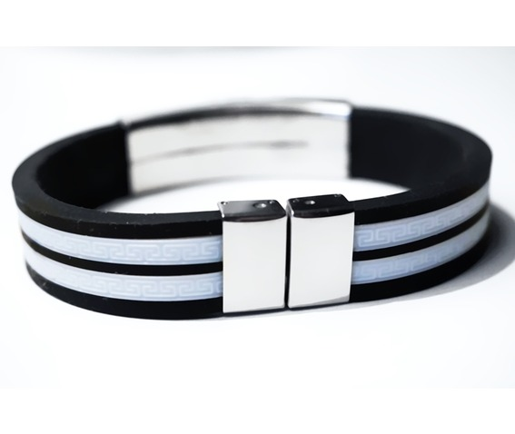 steampunk_bdsm_jewelry_mens_black_silver_cuff_brutal_metal_rubber_brass_soviet_watch_bracelet_gift_man_boyfriend_father_brother_bracelets_3.JPG