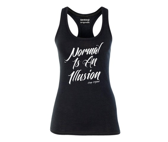 normal_is_an_illusion_tank_top_shirts_2.jpg