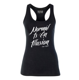 Normal Is An Illusion Tank Top