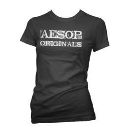 Aesop Originals Anarchy Uk Logo T Shirt