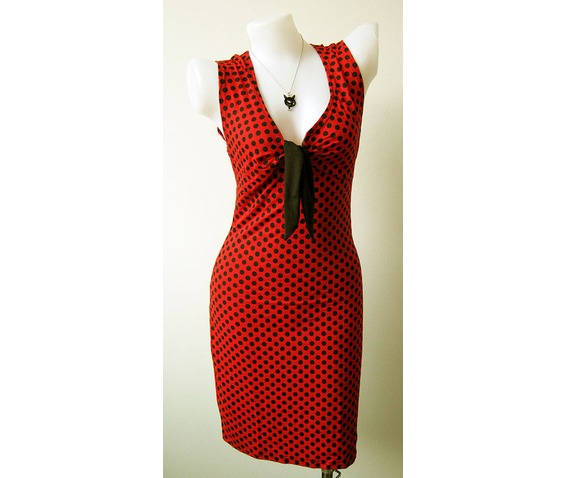 women_s_sexy_rock_punk_emo_retro_new_dress_red_dot_pokka_dot_black_size_m_l_xl_dresses_3.jpg