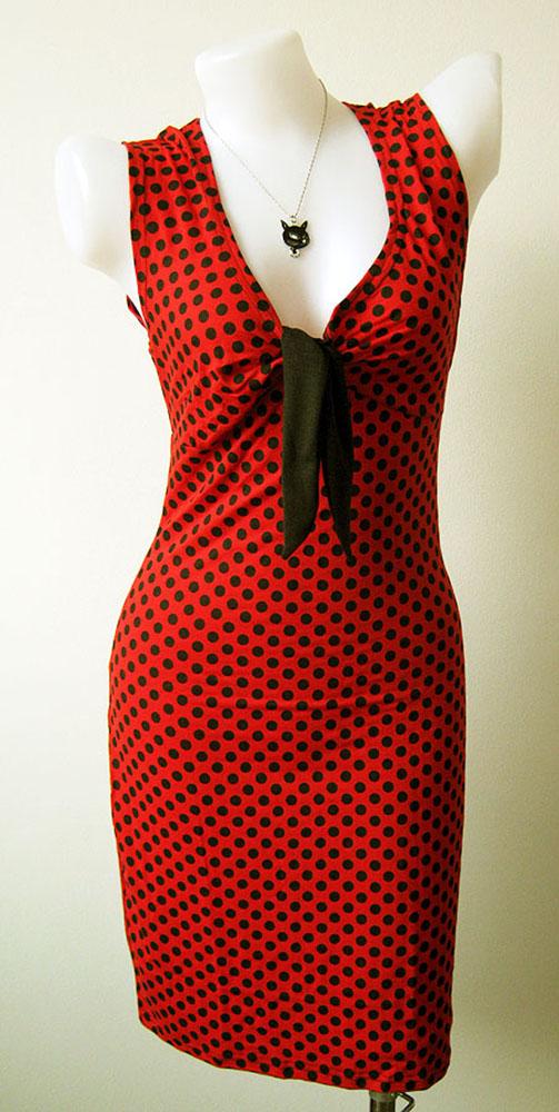women_s_sexy_rock_punk_emo_retro_new_dress_red_dot_pokka_dot_black_size_m_l_xl_dresses_3.jpg