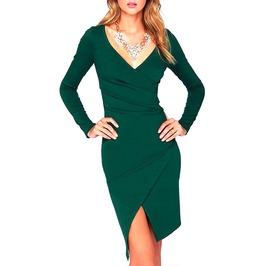 Striking! Emerald Green Dress Medium