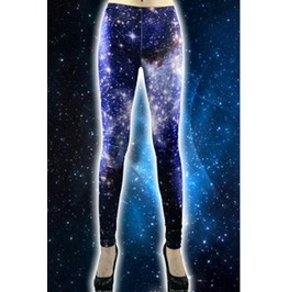 Spaced Leggings Cool Print! Hot Item! G1051pu Tt
