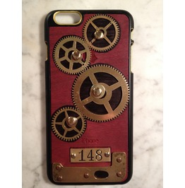 I Gearz Hand Made Apple I Phone 6 Plus Steampunk Neo Victorian Case Brass Gears Spin 148