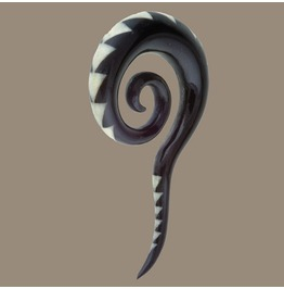 Tribal Jewellery, Ear Stretcher, Ethnic Jewellery, Tribu, Organic Jewellery, Solid Hook, Gauge Jewellery, Tribal Stretcher, Gauge Stretcher