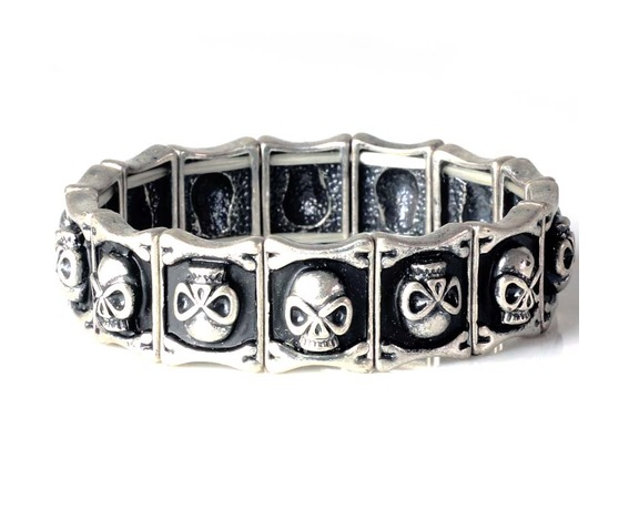 silver_skull_tennis_bangle_black_elastic_bracelet_stretch_neutral_hallowmas_bracelets_3.jpg
