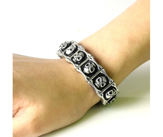 silver_skull_tennis_bangle_black_elastic_bracelet_stretch_neutral_hallowmas_bracelets_2.jpg