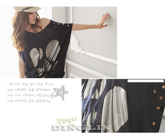 fashion_women_batwing_sleeve_sexy_casual_loose_long_skull_top_t_shirt_tee_blouse_black_white_navy_blue_shirts_2.jpg
