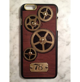 I Gearz Apple Iphone 6 Plus Steampunk Neo Victorian Case Brass Gears Spin 78