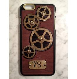 I Gearz Apple Iphone 6 Plus Steampunk Neo Victorian Case Brass Gears Spin 78
