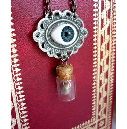 Last Tear Necklace Esoteric Evil Witch Halloween Wicca Goth Vial