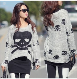 Skull Sweater Wim007 N