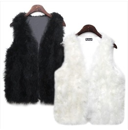 Fur Vest Wim019 J