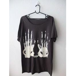 X Ray Hand Cuff Fashion Low Cut L