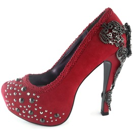 Hades Shoes Amina Red Stiletto Heels