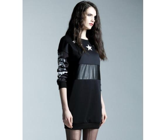 patch_work_pu_waist_star_print_black_short_dress_dresses_9.PNG